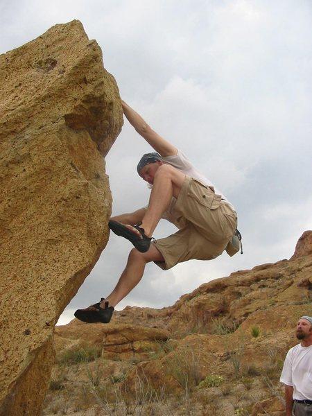 Little Timmy Boulder