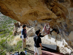 Rock Climbing Photo: Fire Pit V5
