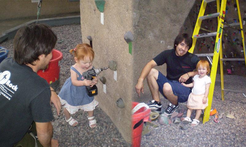 Rock Climbing Photo: SolidRock Gym setters 06