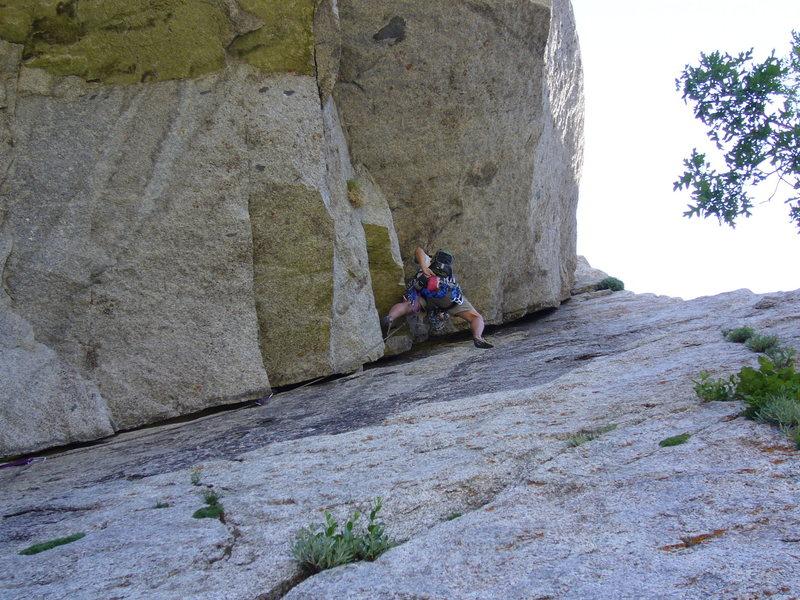 Chalking up - P1: EllsWorth McQuarry Route