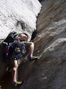 Rock Climbing Photo: Starting the incredible 3rd pitch. - P3: EllsWorth...