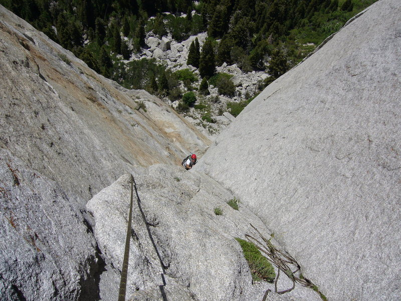 Rock Climbing Photo: Now that is some sweet exposure, funny that you do...