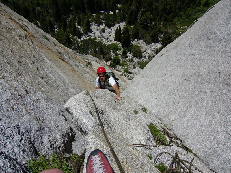 And now the face I was talking about. It's nice to be second - P3: EllsWorth McQuarry Route<br>