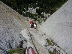Rock Climbing Photo: And now the face I was talking about. It's nice to...
