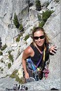 Rock Climbing Photo: Heather Selitrennikoff climbing Igor Unchained 5.9...