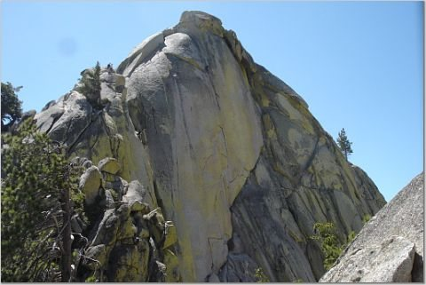 Rock Climbing Photo: View of Igor Unchained, Needles, CA