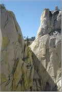 Rock Climbing Photo: View from Igor Unchained, Needles, CA