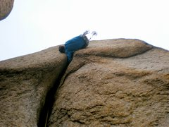 Rock Climbing Photo: Not the best shot, but this is near the business e...