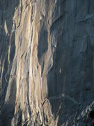 Rock Climbing Photo: The Shield head wall
