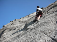 Rock Climbing Photo: Chris Thomas puts style into the cruxy and tricky ...