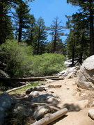 Rock Climbing Photo: The stream crossing to the Undiscovered Country, T...