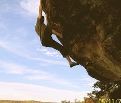 Rock Climbing Photo: AYP Wall, Your Resignation Please, 7b, Pinon, AZ P...