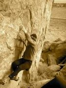 Rock Climbing Photo: Make The Impossible Possible, 8a, Pinon, AZ  Photo...