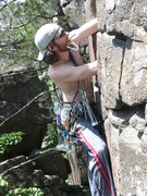 Rock Climbing Photo: Redpointing Keyhole. photo: ChrisZ