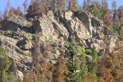 Rock Climbing Photo: Hurd Creek crag near Tabernash, CO.
