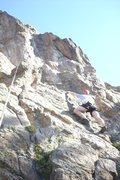 Rock Climbing Photo: David DeCoste climbing sport route at Hurd Creek c...