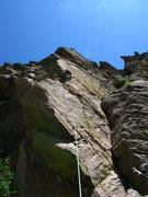 Rock Climbing Photo: Keen Butterworth entering the 2nd crux on Heart of...