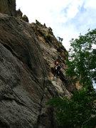 Rock Climbing Photo: Keen Butterworth working the gear as necessary on ...