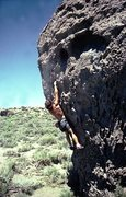 Rock Climbing Photo: An area classic, Crystal Ball.  Located .2 miles b...