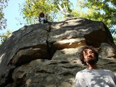 Rock Climbing Photo: High ballin