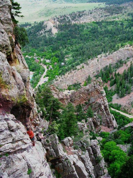 Great views, good climbing, no people.