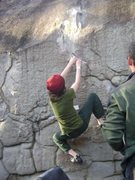 Rock Climbing Photo: Climbing a cool LRC route...