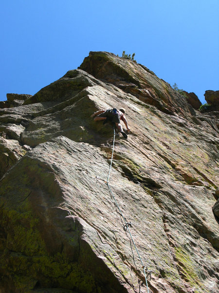 "Rock Climbing Photo: Keen Butterworth resorting to ""inobvious tric..."