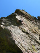 "Rock Climbing Photo: Keen Butterworth resorting to ""inobvious tric..."