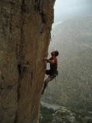 Rock Climbing Photo: An aspirant to nobility preparing for the toss on ...