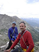On the top of Spearhead with Paul Crowder
