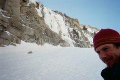 Rock Climbing Photo: You gotta love climbin' the cold, solid wet stuff