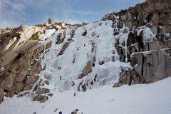 Rock Climbing Photo: The Main Wall, Lee Vining Canyon