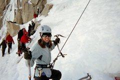 Rock Climbing Photo: Grrrrrrrlll power (my wife, Deanna, having too muc...