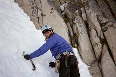 Rock Climbing Photo: She loves the ice