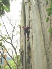Climbing Oh Baby in Cantabaco, Cebu Island, Philippines (Feb 2006)