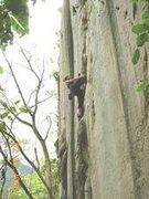 Rock Climbing Photo: Climbing Oh Baby in Cantabaco, Cebu Island, Philip...
