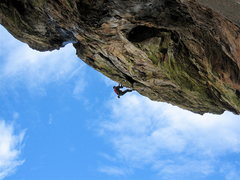 Rock Climbing Photo: Cameras position makes it look steeper than it is....