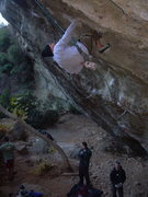 Rock Climbing Photo: Normal Guy showing the kids how it is done with a ...