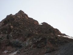 Rock Climbing Photo: This is at the top of the Morraine.  Traverse up a...