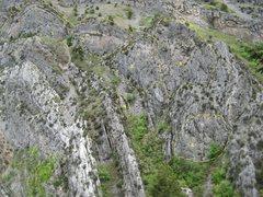 Rock Climbing Photo: 1)Endor Wall 2)Apollo Wall 3)Milky Way Wall 4)Miss...