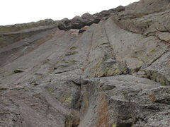 Rock Climbing Photo: It's the dihedral on the right. As you can see, th...