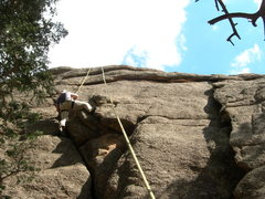 Rock Climbing Photo: I tried to delete this photo, as I did with my oth...
