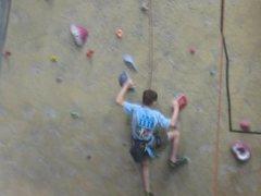 Rock Climbing Photo: Climbing...