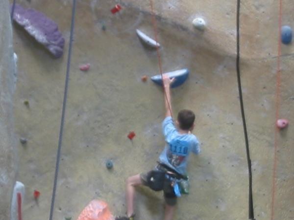 Rock Climbing Photo: Climbing again