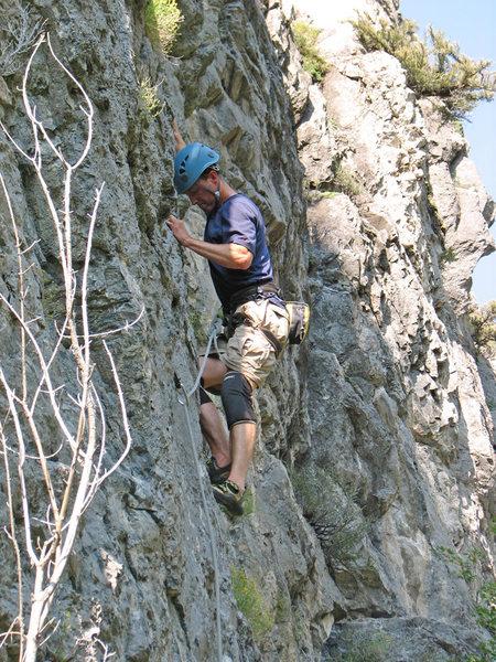 Rock Climbing Photo: Kip Henrie on Sex Farm.