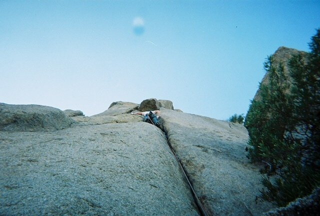 Rock Climbing Photo: Bee Line Cochise, ya know now that I think about i...