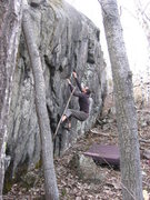 Rock Climbing Photo: lower wall