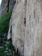 Rock Climbing Photo: Danny B'n Badass & Jenn on belay (pic taken from b...