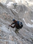 Rock Climbing Photo: Descent of Mount Triglav with one of the mountain ...