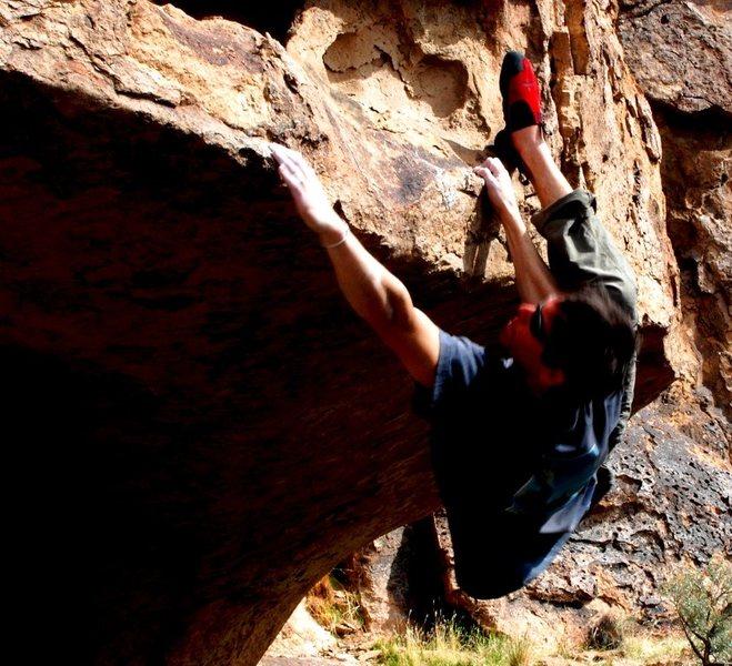 Rock Climbing Photo: Trombone Traverse
